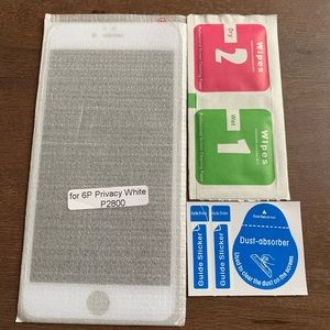 Accessories - iPhone 6s Plus privacy screen protector